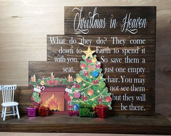 Christmas in Heaven Christmas in Heaven Poem by CraftsFromKentucky ...