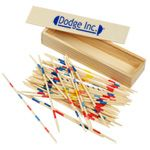 4imprint - Pick-Up Sticks in Wood Box