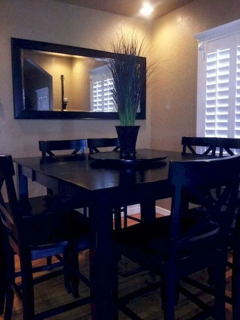 18+ Beautiful Farmhouse Dining Room Table Design Ideas » ideas.hasinfo.net #farmhousediningroom