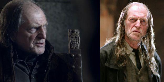 Walder Frey David Bradley Played Filch In Harry Potter David Bradley Actor Men Harry Potter