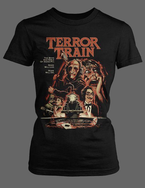 Terror Train horror movie shirt