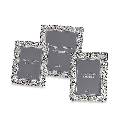 Monique Lhuillier Waterford® Sunday Rose Frame   Wedding   Pinterest
