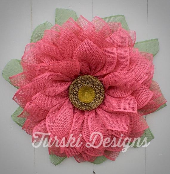 Photo of Sunflower Wreath, Fuchsia Flower Wreath, Fuchsia Wreath, Spring Wreath, Fuchsia Wreath, Pink Flower Wreath, Sunflower, Door Wreath, Front Thu.