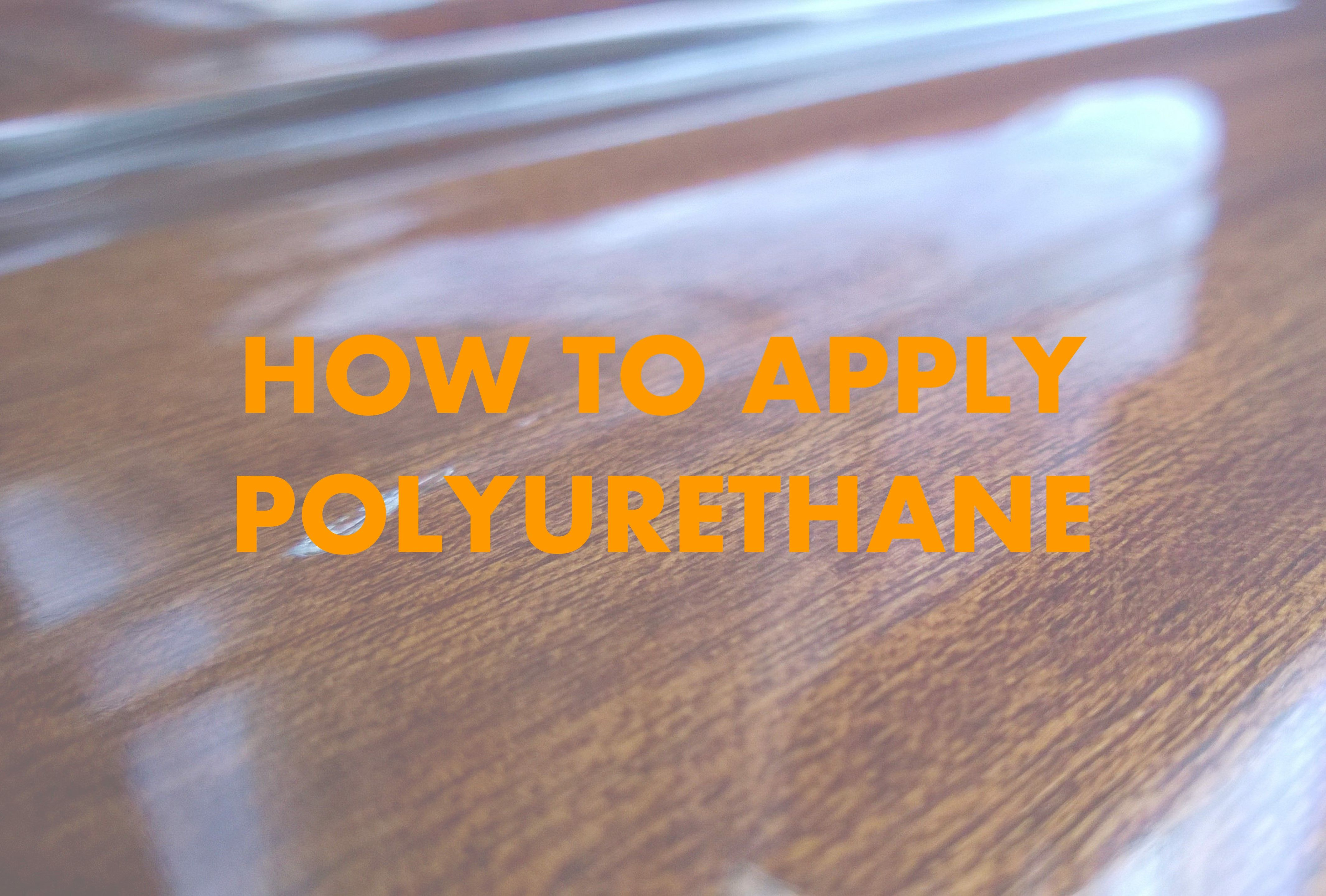 Applying polyurethane isn't exactly like painting. If you've never done it before, here's some handy guidance. Even if you have used it before, it's a great refresher.