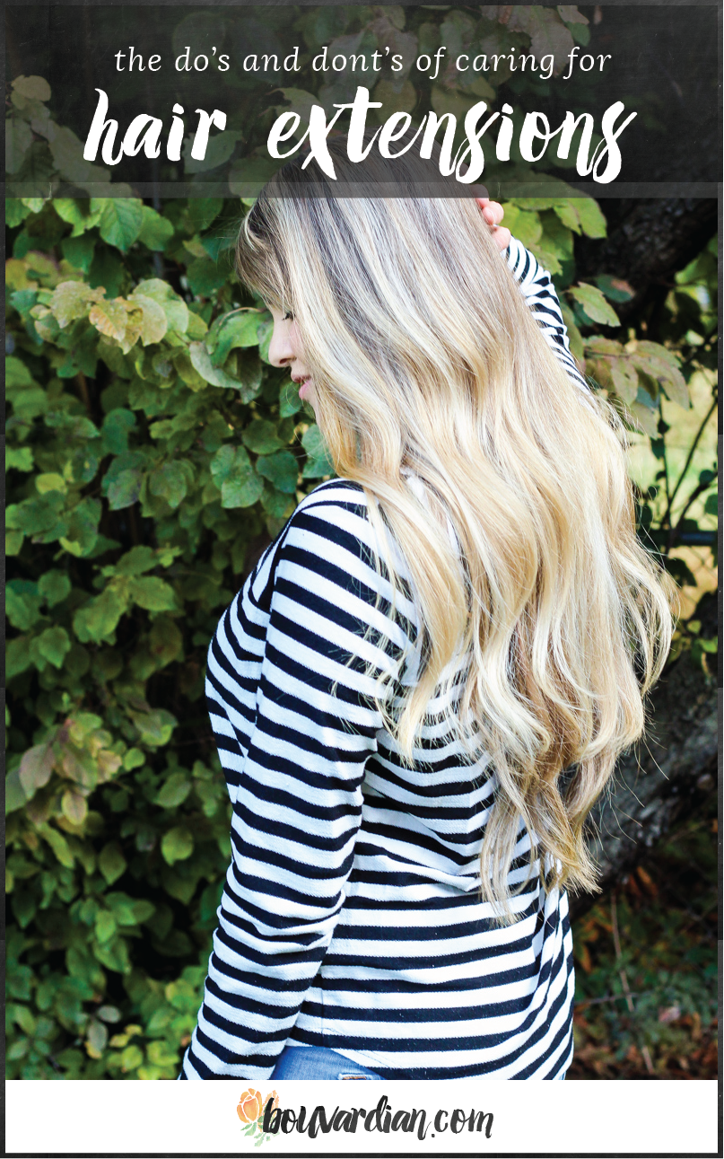 Learn The Dos And Donts Of Caring For Hair Extensions To Keep Them