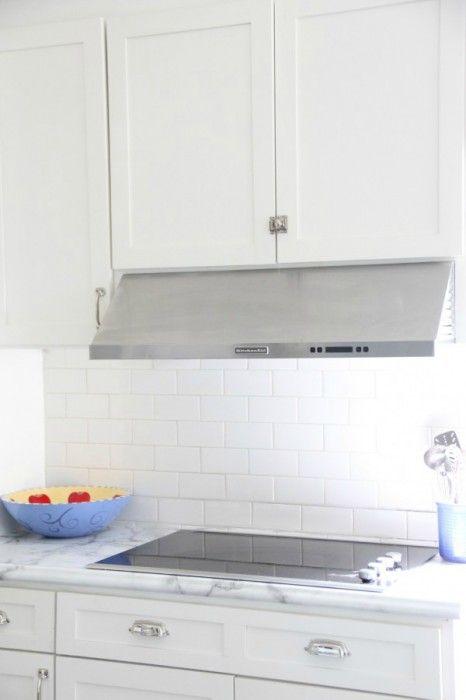 tile over existing tile backsplash and grout kitchen update (short
