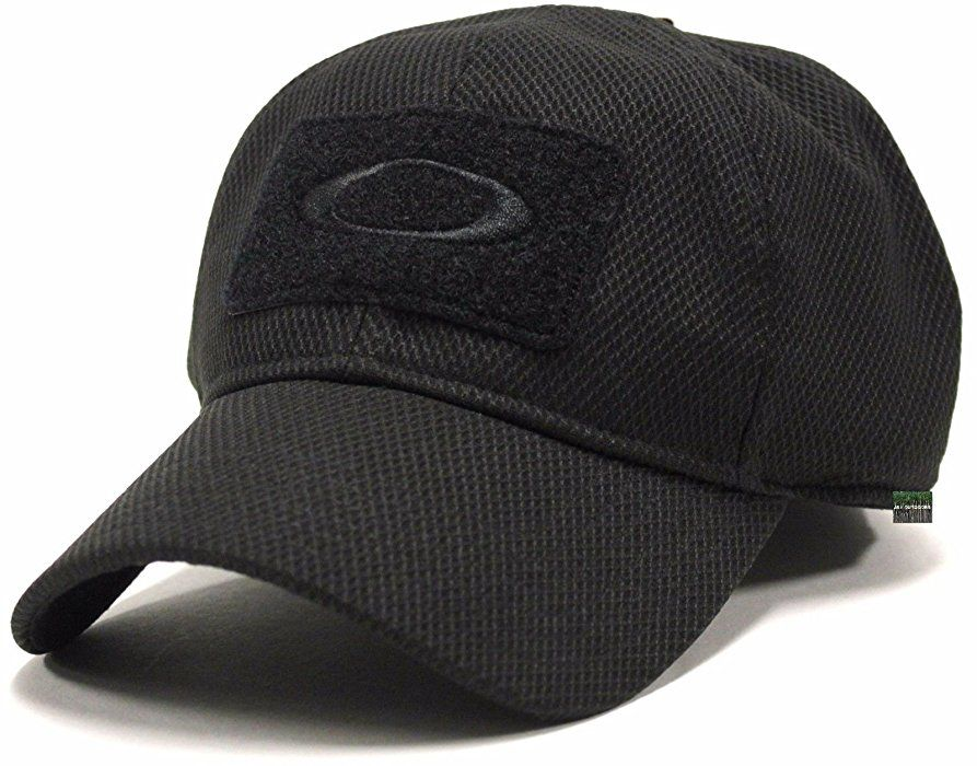 timeless design 59311 6fe40 Oakley Men s SI Standard Issue Special Forces Tactical Fitted Hat Cap -  Black (L XL) at Amazon Men s Clothing store