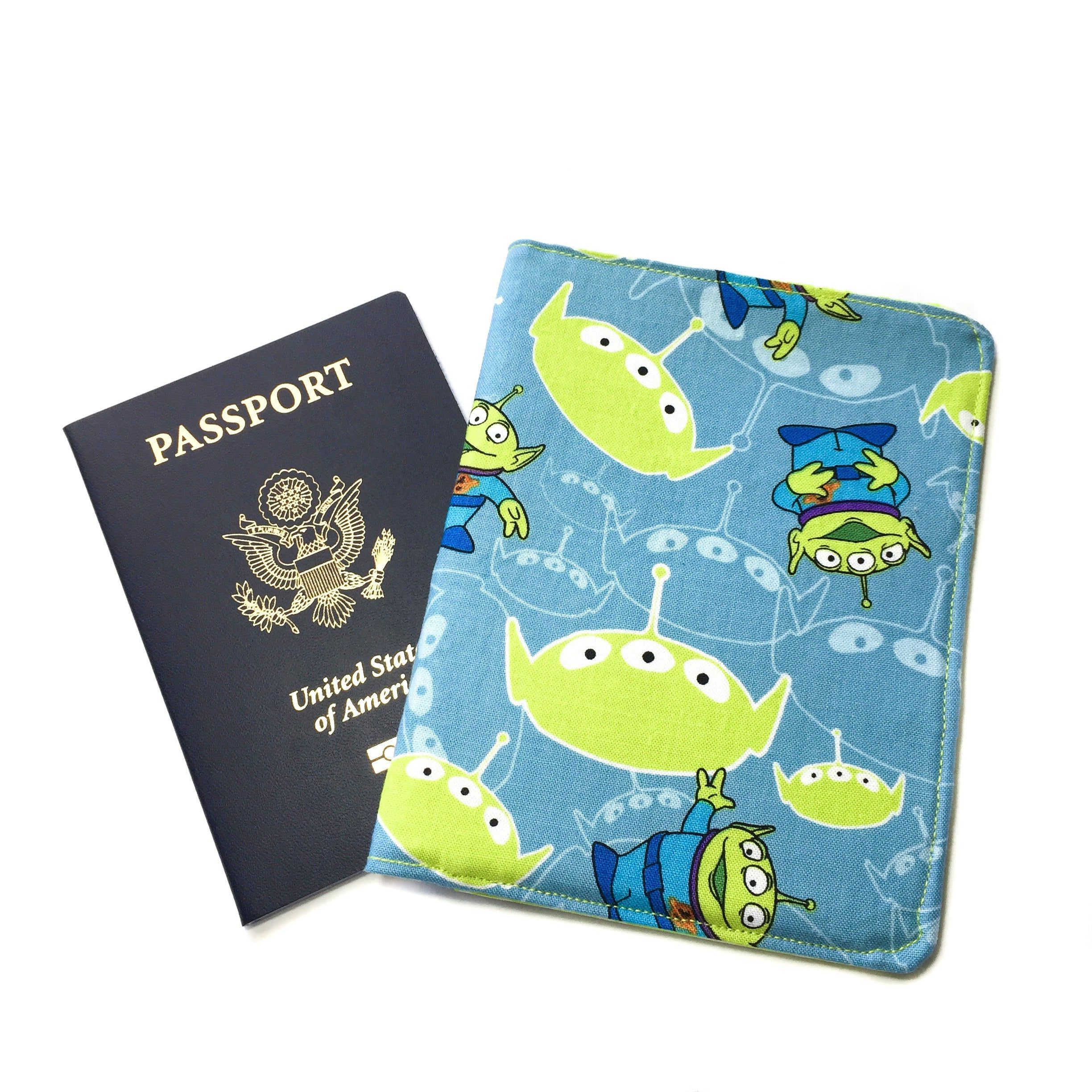 Person Silhouette Light Fashion Leather Passport Holder Cover Case Travel Wallet 6.5 In