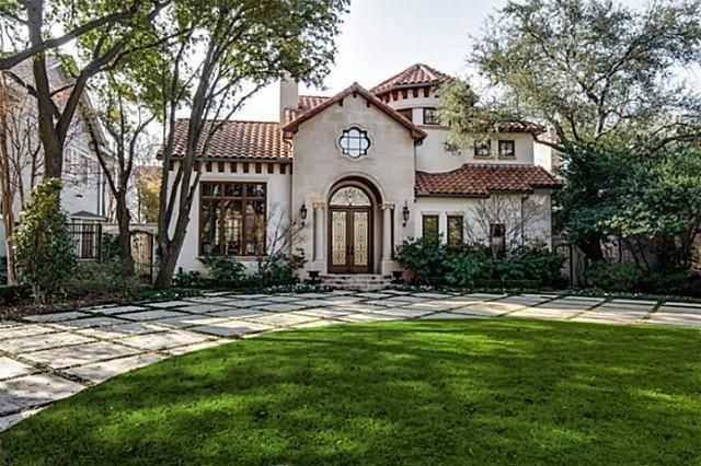 Spanish mediterranean architecture homes pinterest for Spanish style homes for sale in dallas tx