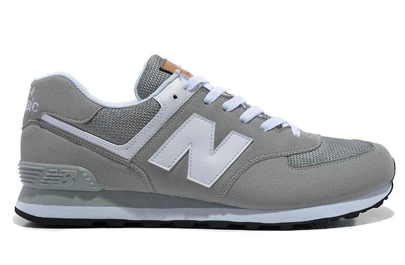 women's grey new balance 574