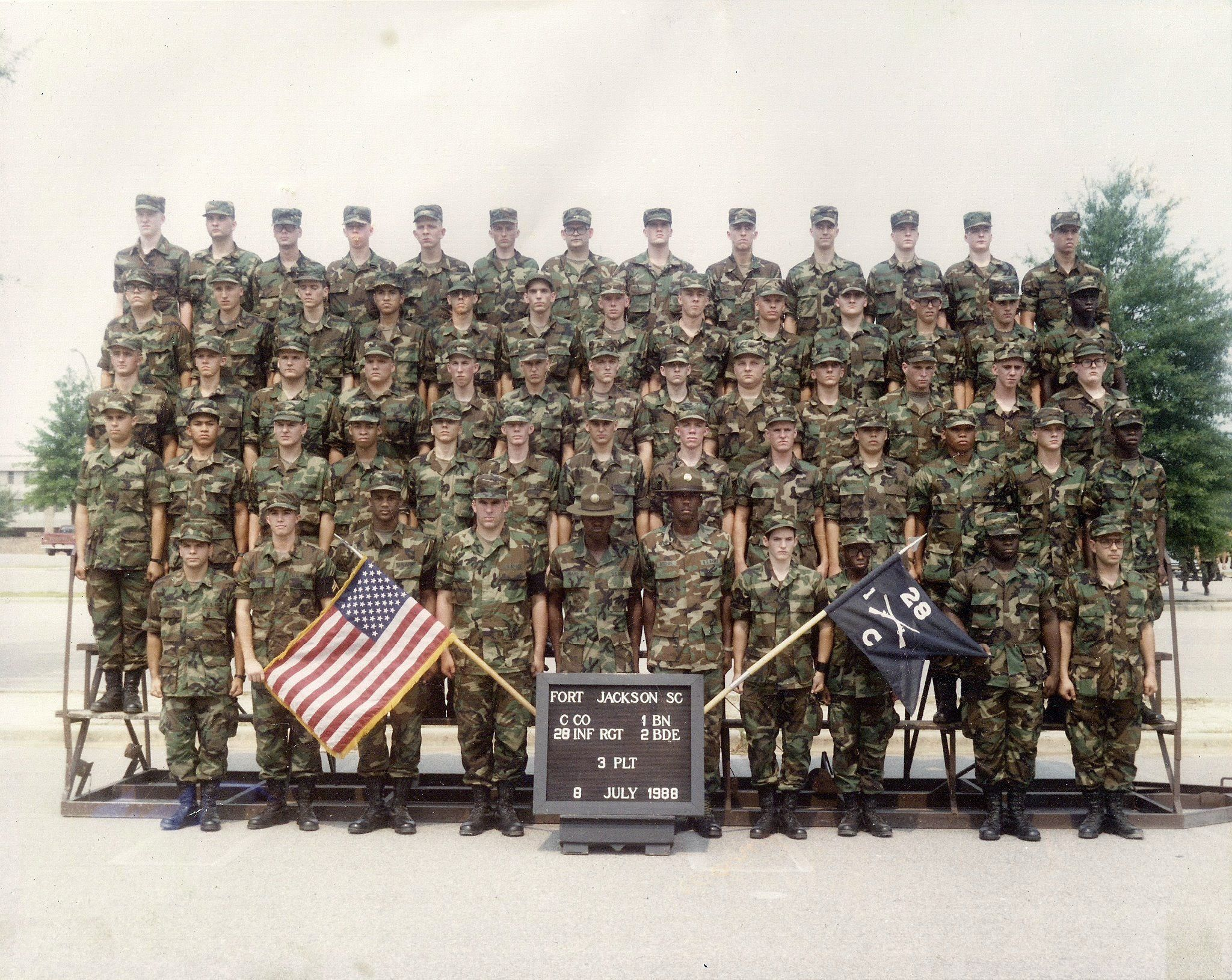 Basic Training 1988 Daniel Wolinski Fort Jackson Sc