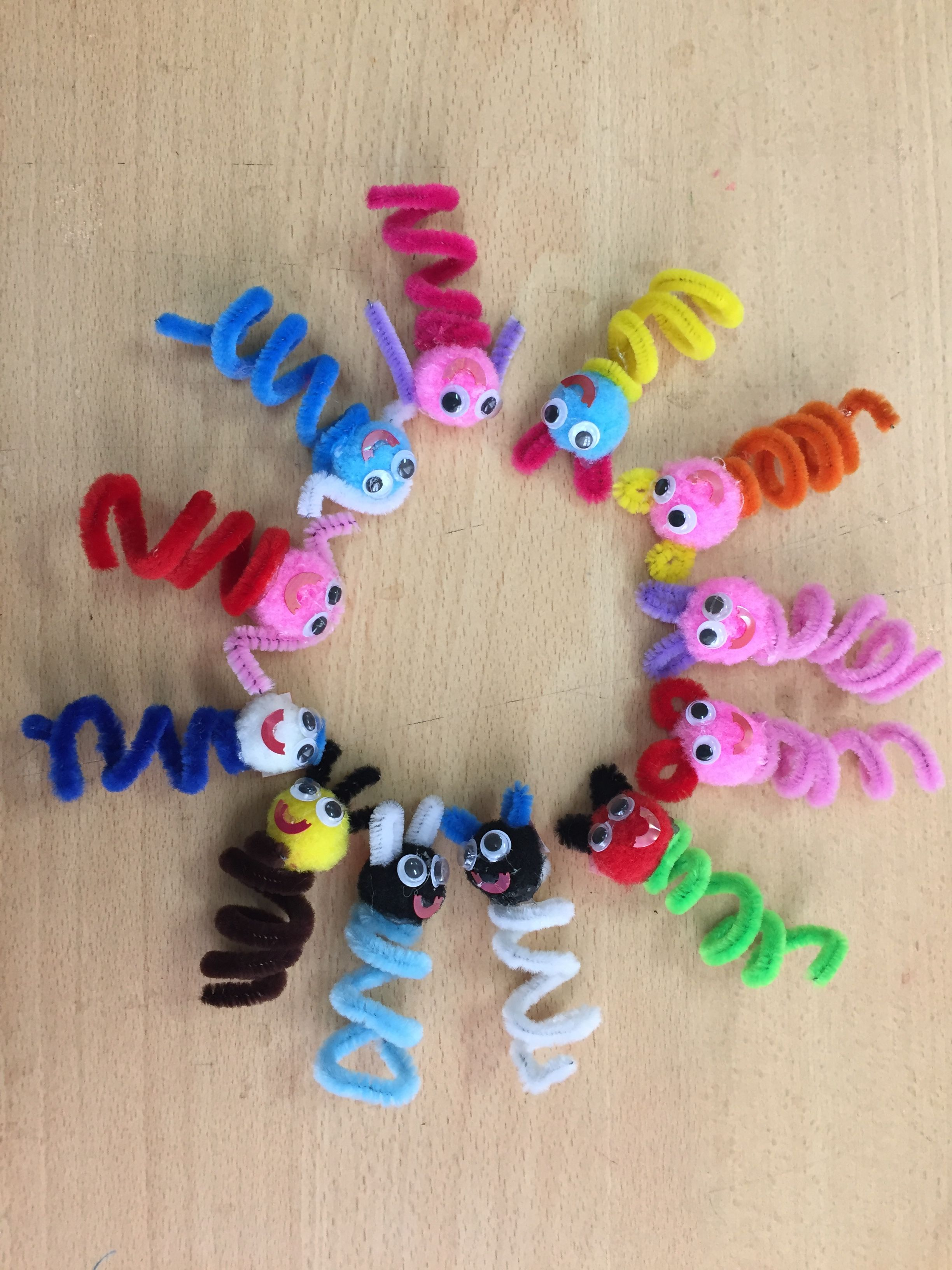 Pipe Cleaner Crafts, Group Activities, Kid Art, Infant Art, Toddler