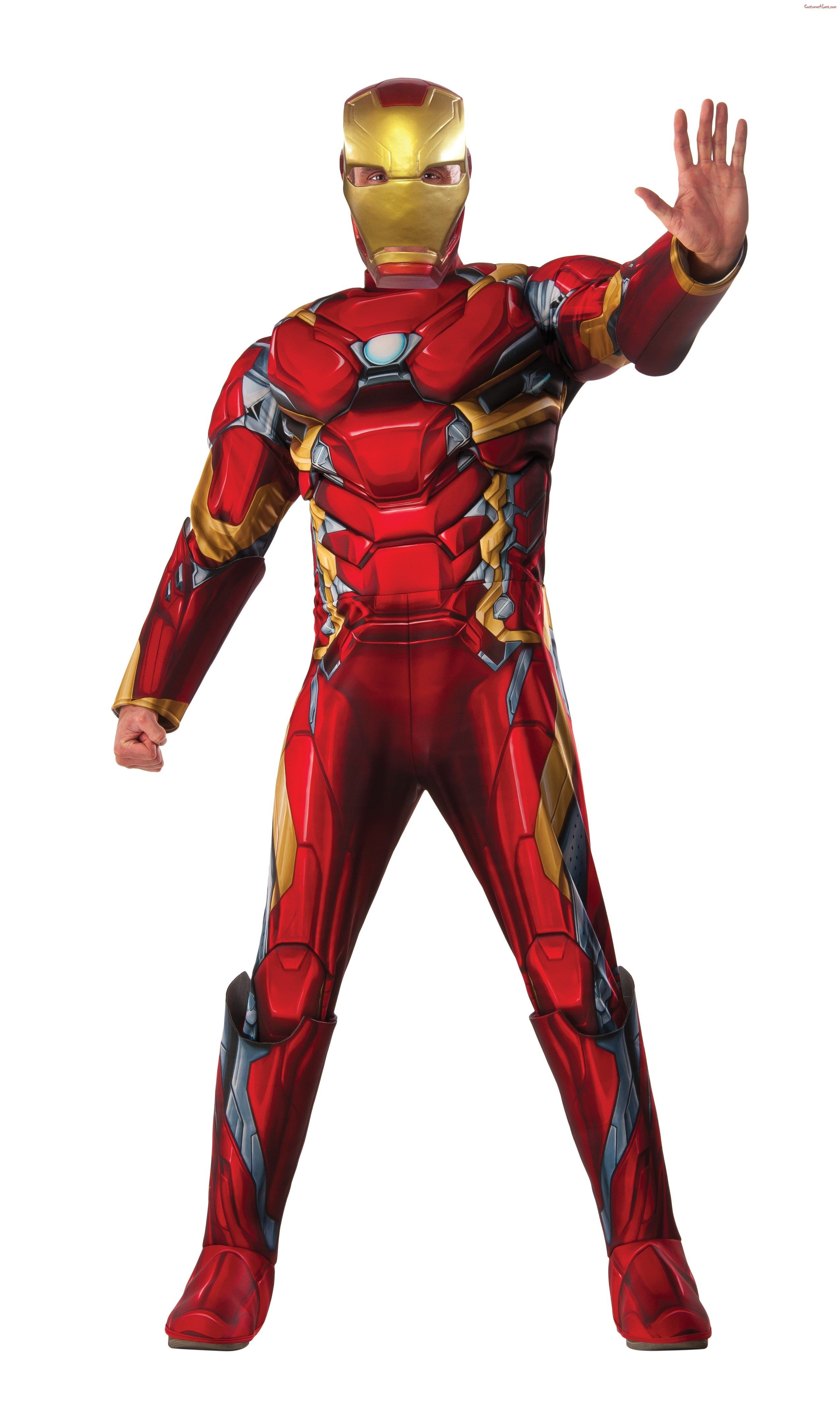 Captain America 3 Iron Man Adult Deluxe Costume Ad Ironman Costume Iron Man Halloween Costume Iron Man Dress Up