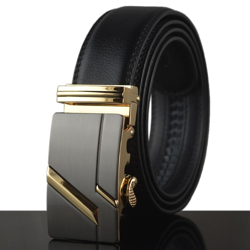 Cheap ceinture designer, Buy Quality belt automatic buckle directly from  China automatic buckle Suppliers: PATEROY Designer Mens Belts Luxruy High  Quality ...