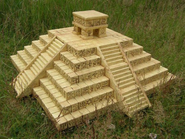 Aztec Temple 3d This Project Is Made From 30mm And 10mm Craftfoam
