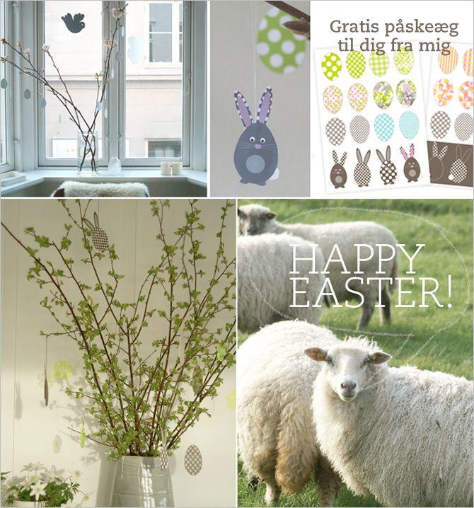 Spagat: Easter freebie