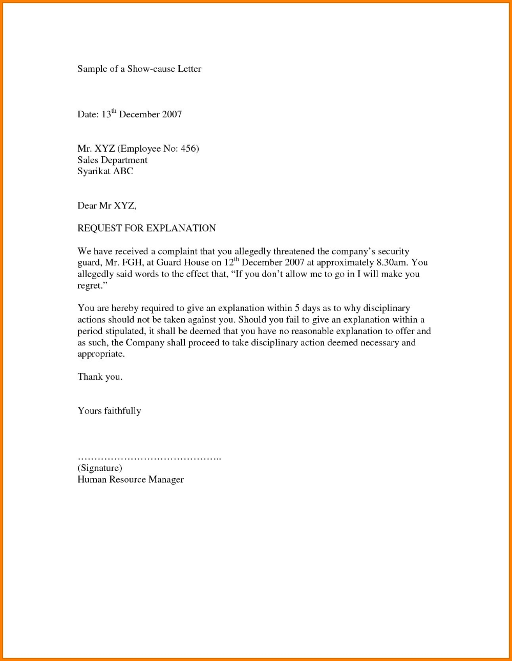 Cash Out Refinance Letter Of Explanation Template Collection In
