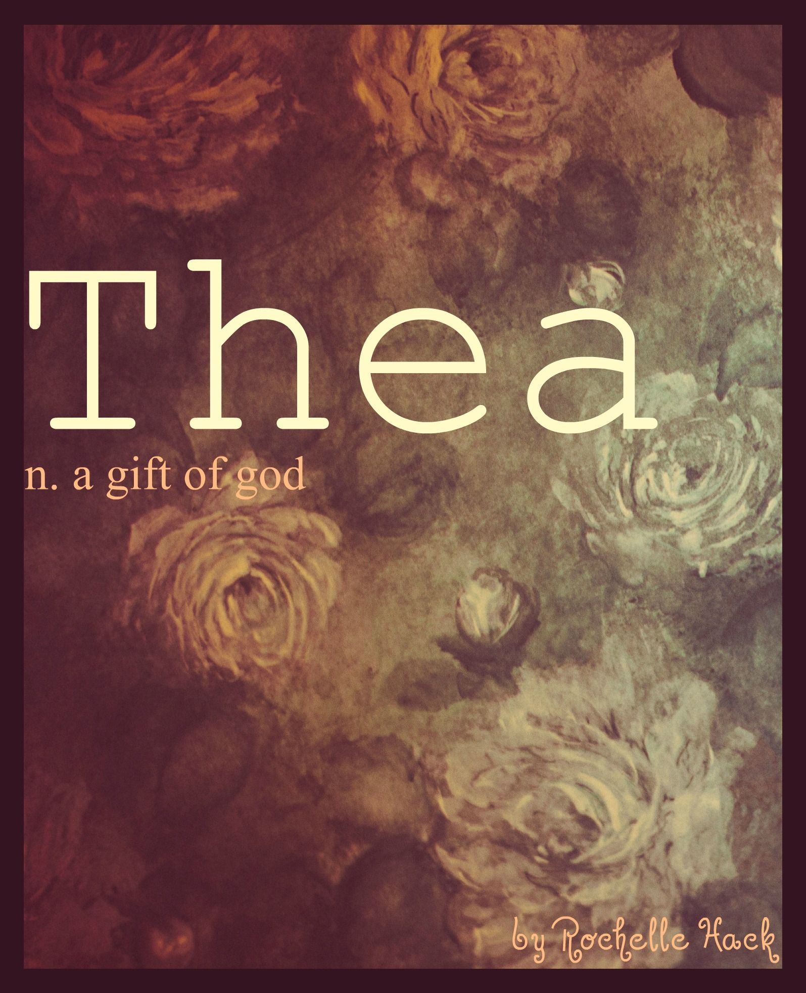Baby girl name thea meaning a gift of god godly
