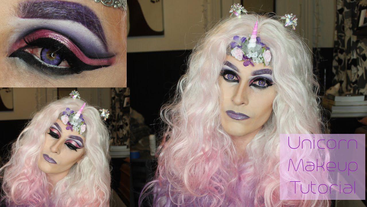 Unicorn drag queen makeup tutorial nyx face awards 2015 entry unicorn drag queen makeup tutorial nyx face awards 2015 entry baditri Images