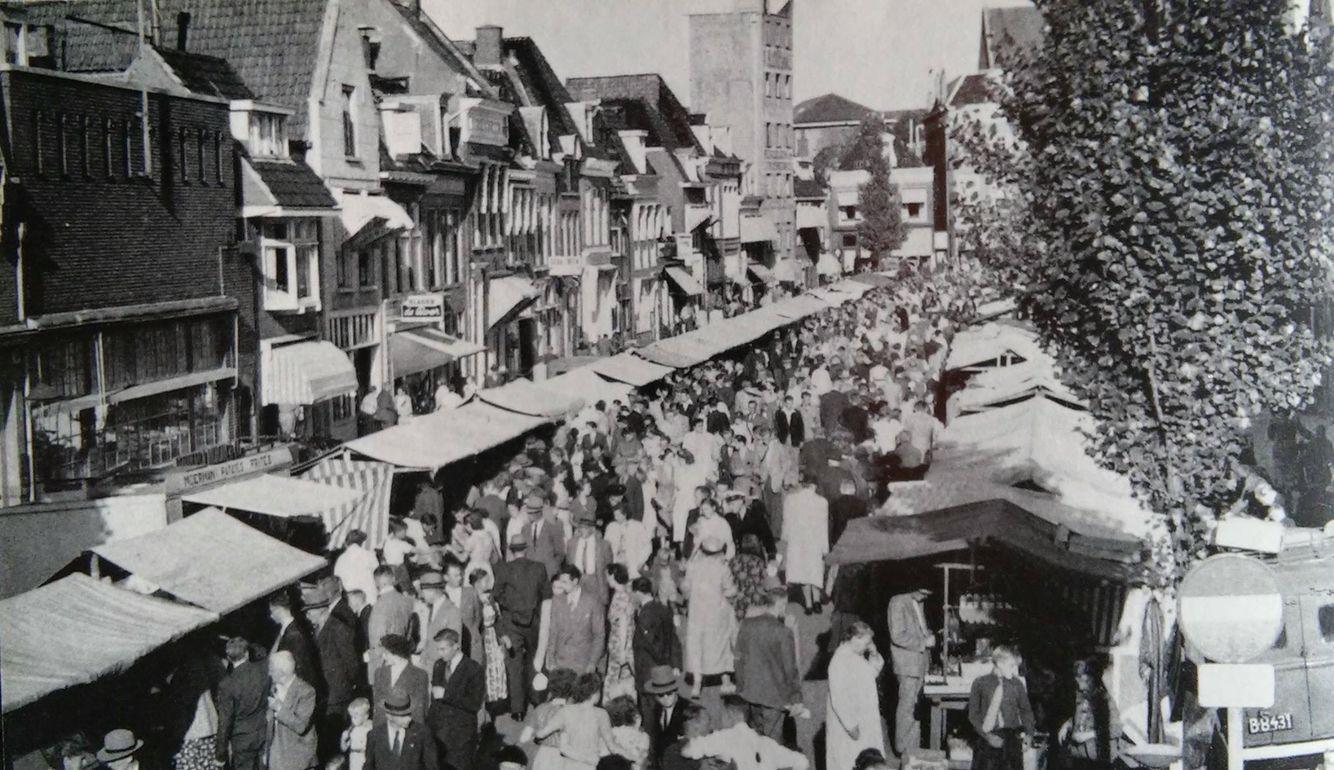Markt Op De Nieuwburen Foto S Oude Foto S Vakantie