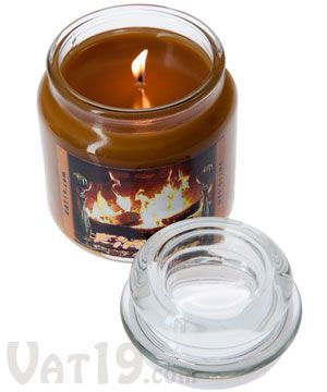 Fireplace Scented Jar Candle | Jar candle, Wood burning fires and ...