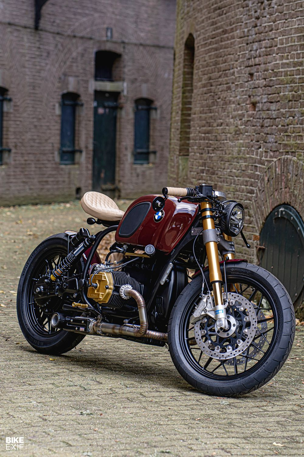 Photo of Knockout Krauser! A four-valve R100 from Ironwood