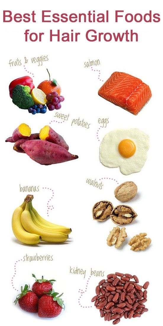 amazing foods healthy hair