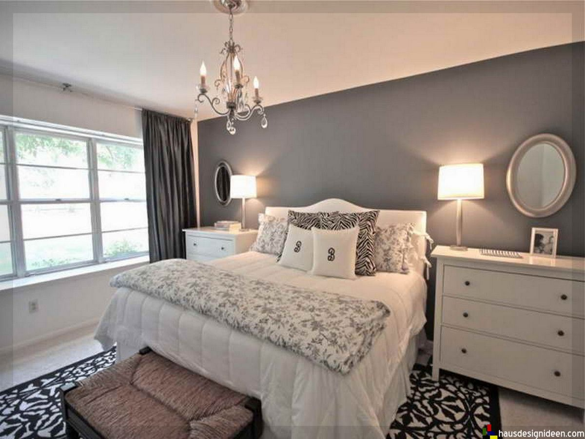 GroBartig Schlafzimmer Ideen Grau Weiß 026