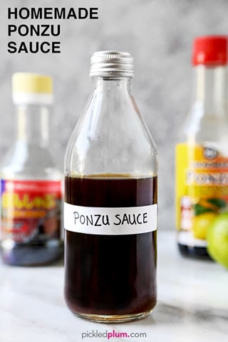 Let S Make Ponzu This Homemade Ponzu Sauce Recipe Is Japanese Citrus At It S Best Umami And Bright All At Once Makes In 2020 Sauce Japanese Sauce Ponzu Sauce Recipe