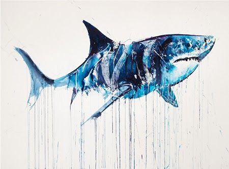Área Visual: El arte contemporáneo de Dave White | Pintura ...