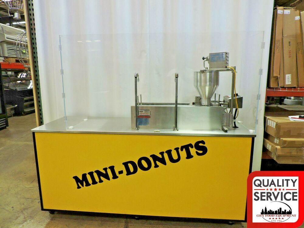 Lil' Orbits SS1200 Mini Donut W/ Down Draft Filtration