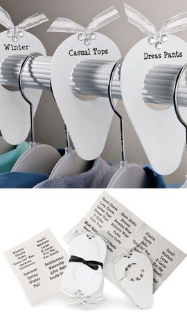 Superbe Charmed Closets™ Rod Organizers Clever Dividers Put An End To Closet Chaos!