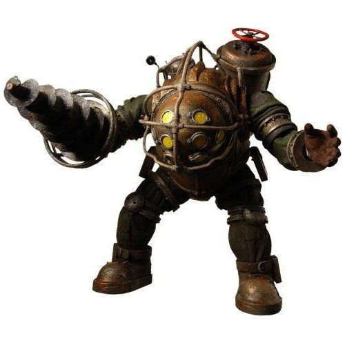 Amazon.com: BioShock 2: Big Daddy Ultra Deluxe Action Figure: Toys & Games