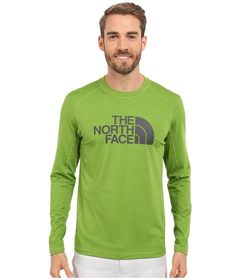 THE NORTH FACE Long Sleeve Sink or Swim Rashguard. #thenorthface #cloth #swimwear