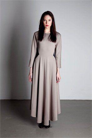 Vestido  Colección Afectados  Jersey de seda   Acabados a mano
