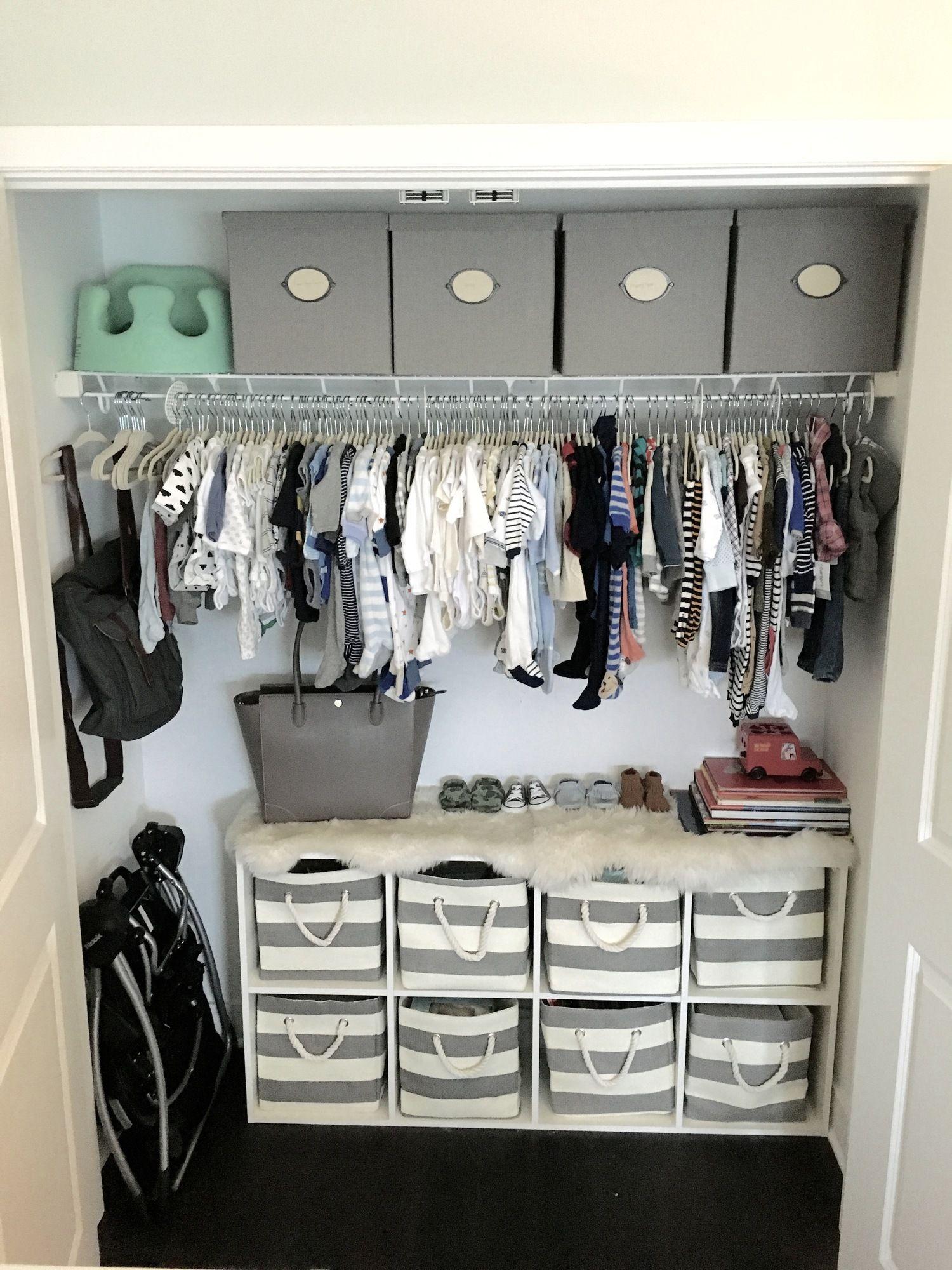 Nursery Closet Organization. | Bebé, Primavera y Bebe