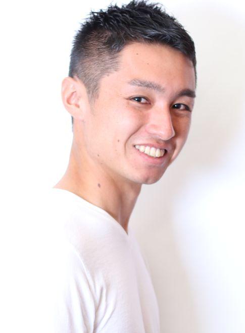 メンズ爽やかビジネスショート 髪型 ヘアスタイル ヘアカタログ