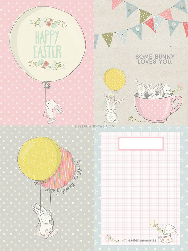 Easter journaling cards free printables journaling and easter darling easter journaling cards these free printables could also be used as gift tags negle Image collections