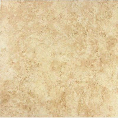 Baja 12 in x 12 in beige ceramic floor and wall tile 15 for Lamosa tile
