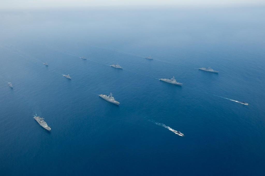 팬저의 국방여행 : 최대 규모 연합 대잠전훈련