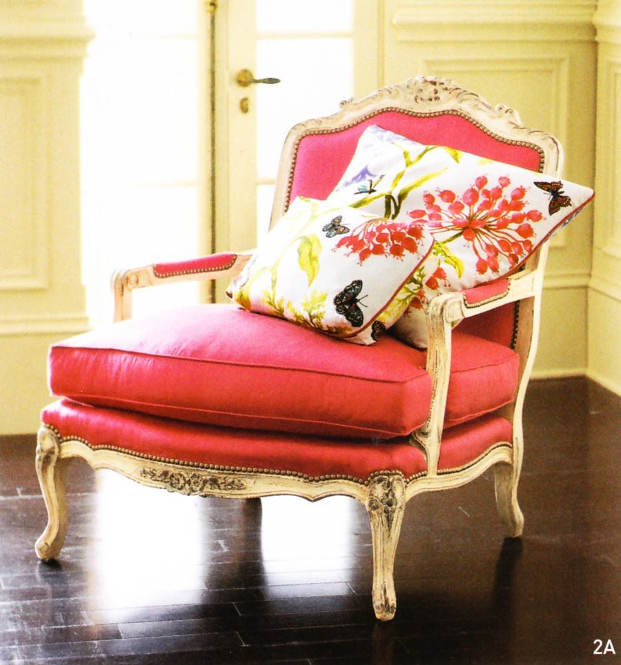 Horchow Chair French Bergere