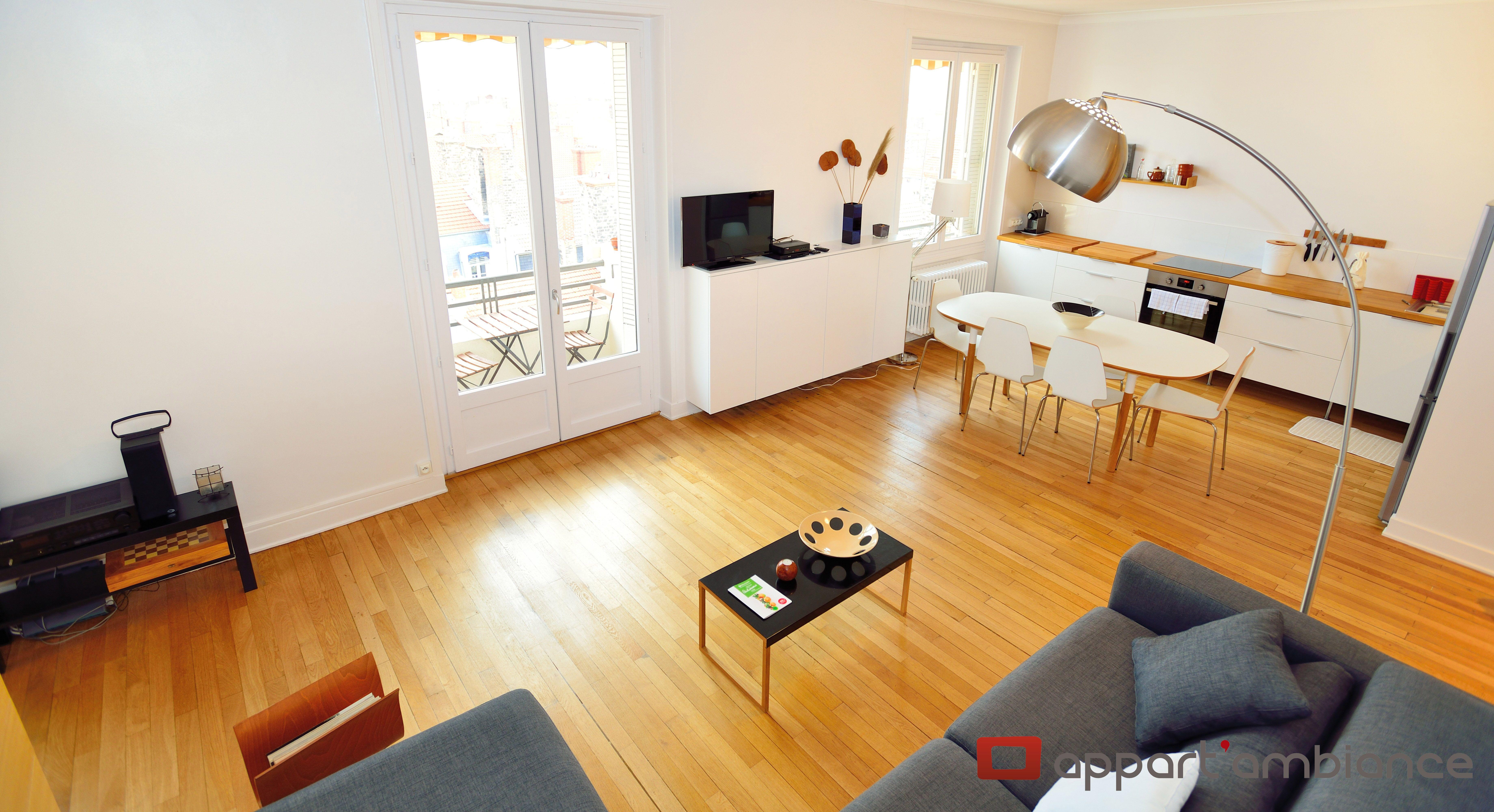 Decouvrez Ce Tres Bel Appartement En Location Courte Duree Situe En Plein Cœur De Lyon Avec Deux Chambres Appartement Meuble Appartement Location Appartement