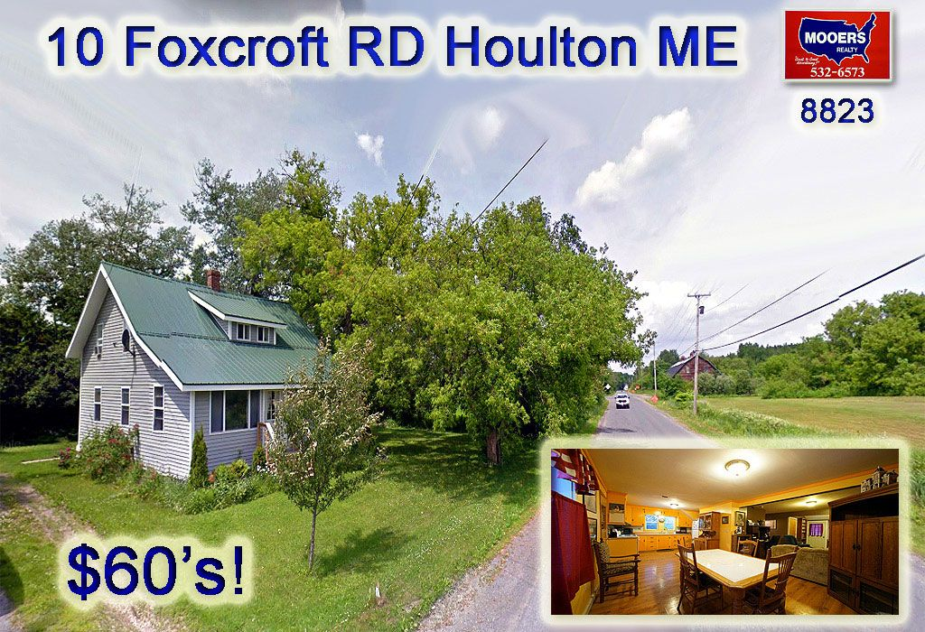 Homes For Sale In Houlton Maine Under 100000 | Maine real ...