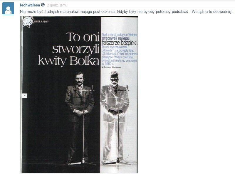 Podczas, gdy w Polsce trwa burza po przejęciu tajnego archiwum generała Kiszczaka, były prezydent odbiera honory w Wenezueli.