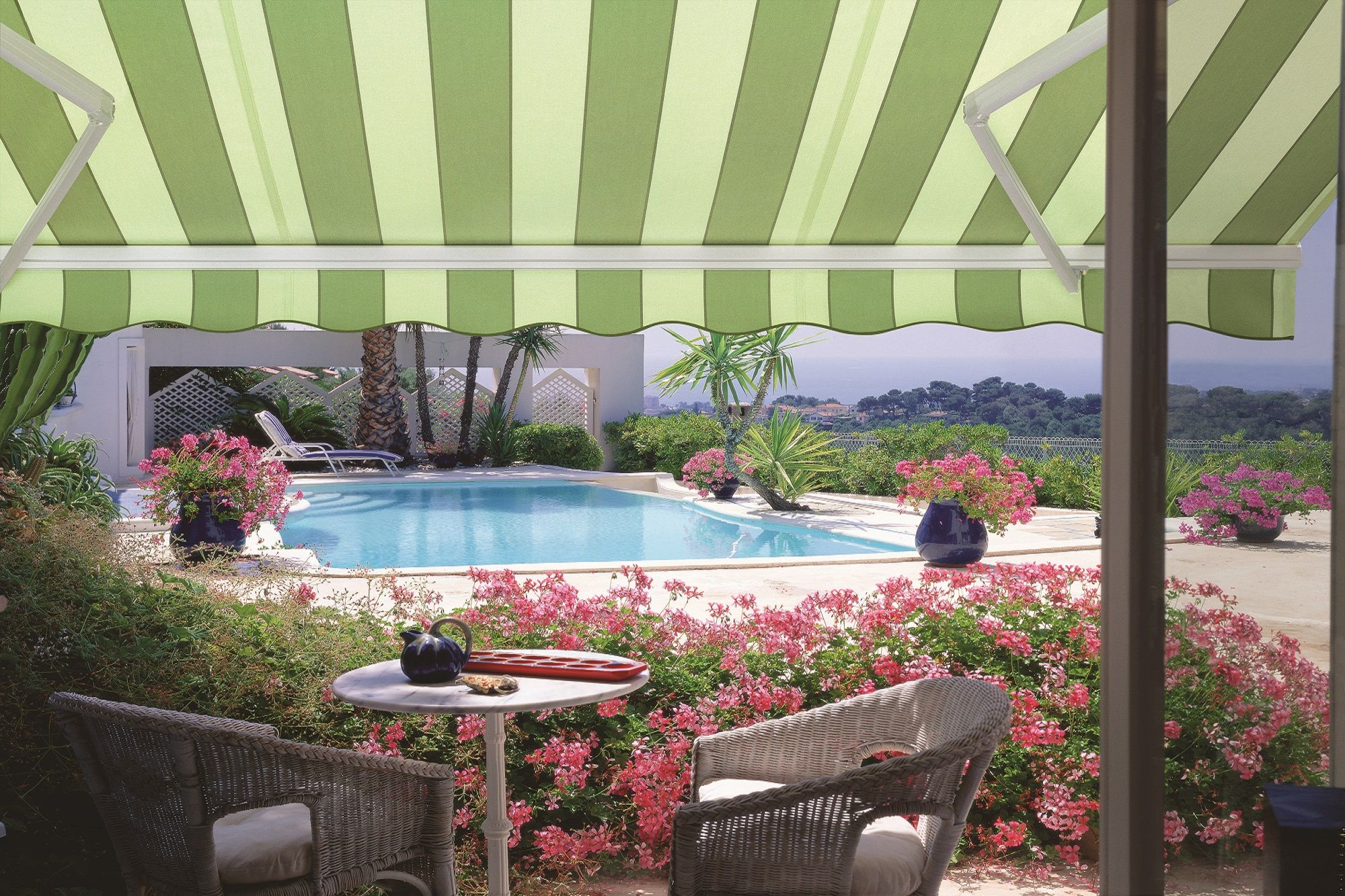 innovative durasol regal page openings awnings arm patio shades awning lateral retractable