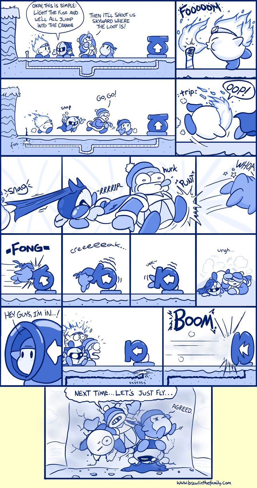 Dream Land Cannon. This one had me going!!! XD