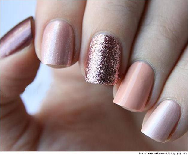 Basic Art Designs : Ombre nail art is one of the easiest you can copy and