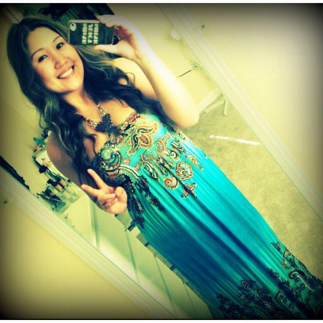 I love long summer dresses! ❤