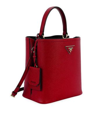Prada Saffiano Double Bucket Tote Bag Dior Handbags 83e5f02c61deb
