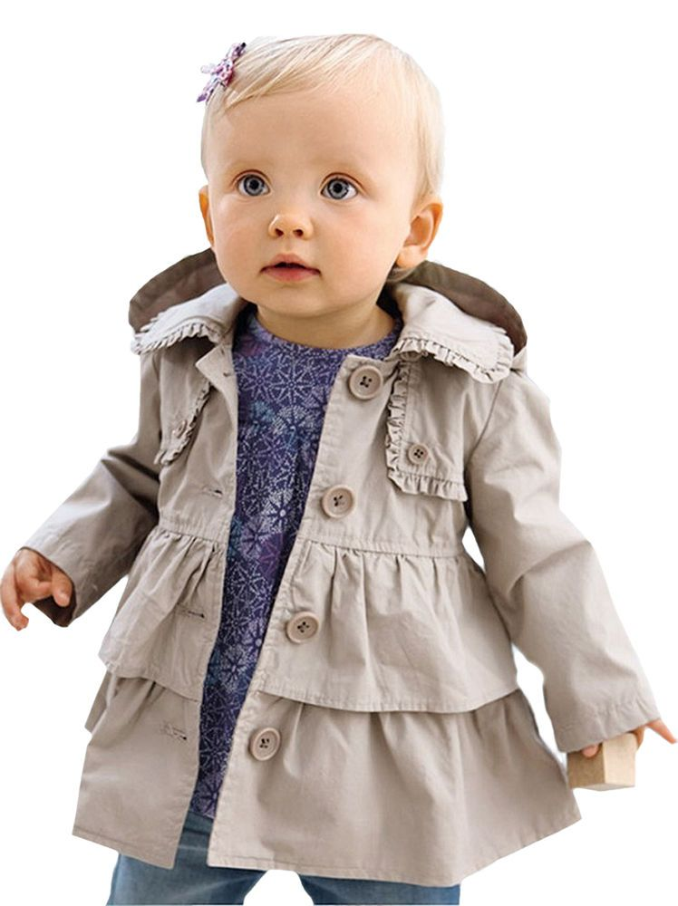 New Baby Clothes 12-18 24 months Toddler Girl Jacket Coat Size 2t 3t 4t